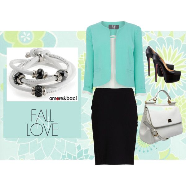 """""""In Love with black and white... Fashion idea!"""" by amoreebaciworld on Polyvore"""