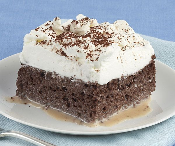 Chocolate Tres Leches Cake by Fine Cooking