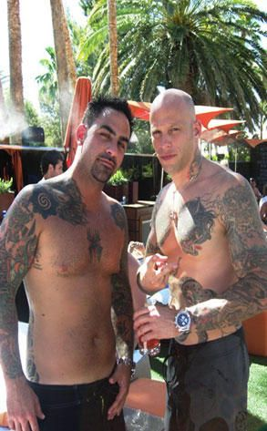Tattoo Artists Chris Nunez and Ami James. there amazing ! there my 2nd (ami) and 3rd (chris) fav. Kat von d still at 1st then 4th is jim hendricks<3