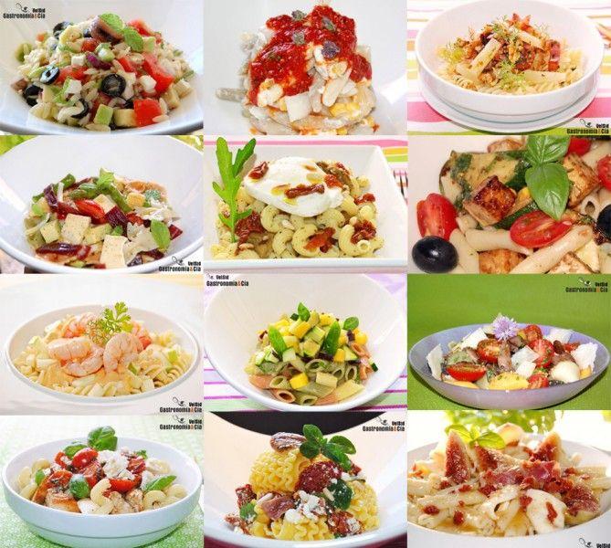 Doce recetas de ensalada de pasta