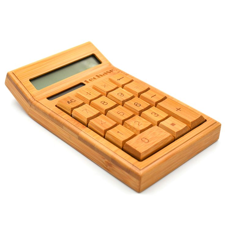 Techase CS19 Calculadora Bamboo Solar Calculator Wooden Scientific Calculator 2017 New Hesap Makinesi Calculadora Financeira. Click visit to buy #Calculator