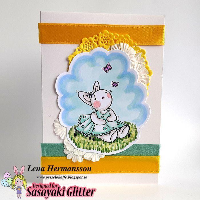 Sasayaki Glitter Challenge Blog: SASAYAKI GLITTER MARCH CHALLENGE - EASTER