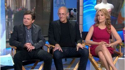 Video: 'Back to the Future' Cast Reunion on Today Show: Live Interview with Michael J. Fox, Christopher Lloyd, and Lea Thompson  #BackToTheFuture