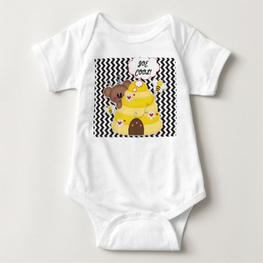 Joe Cool tshirt baby personalized sleeper