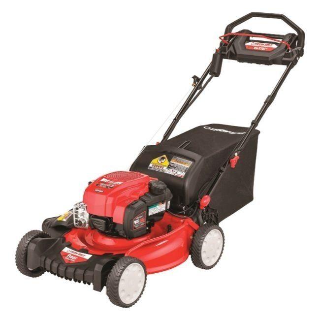 Troy Bilt 21 In W 163 Cc Self Propelled Lawn Mower Red Briggs Stratton Side 12acc3a6766 Best Riding Lawn Mower Best Lawn Mower Gas Lawn Mower