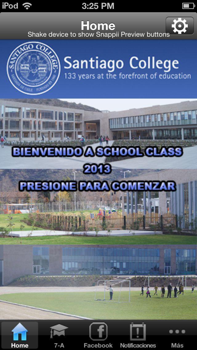 Aplicacion exclusiva para apoderados del Santiago College.   https://play.google.com/store/apps/details?id=com.neto_mobile_apps_ltd.schoolclass https://itunes.apple.com/app/id655621598