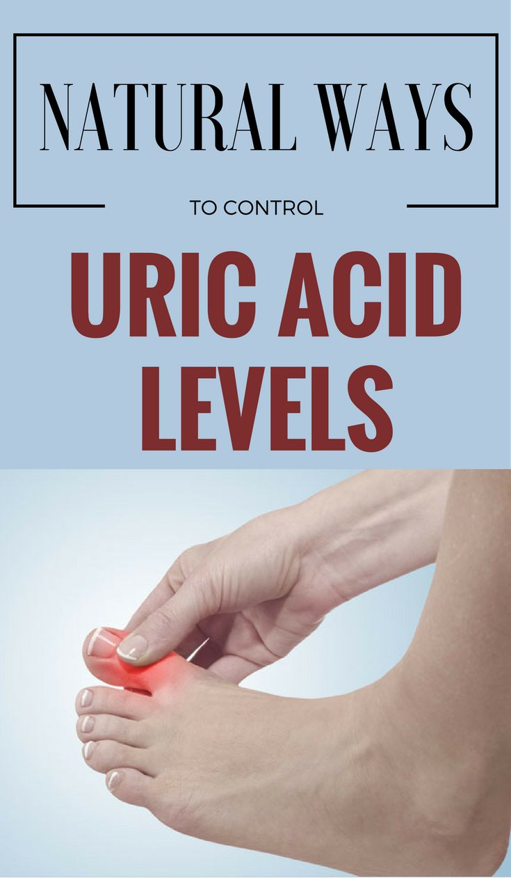 Natural Ways To Control Uric Acid Levels