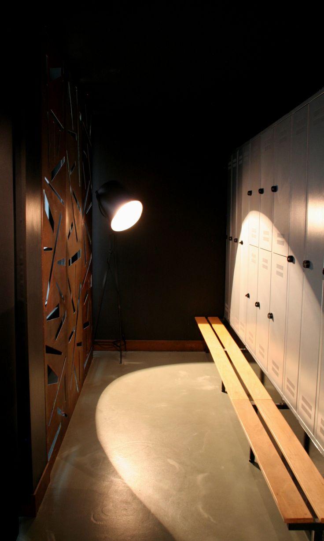 Locker room. reivented.