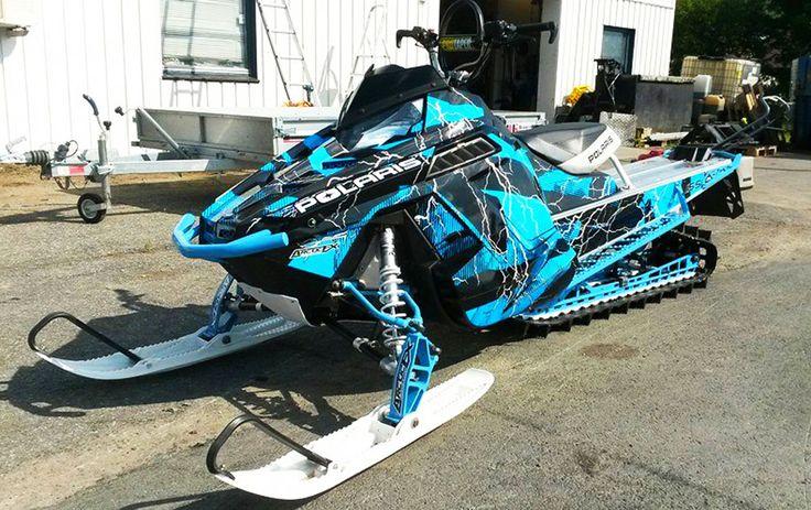 Polaris Pro RMK Hard Rain ArcticFX Sled Wrap