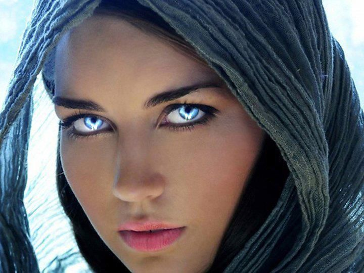 amazing blue eyes