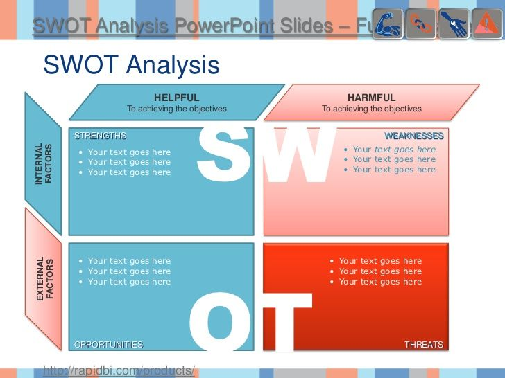 16 best DIY ART images on Pinterest Business powerpoint - format for swot analysis