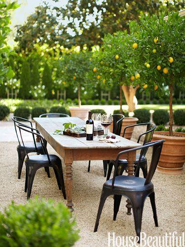 Outdoor Farm Table