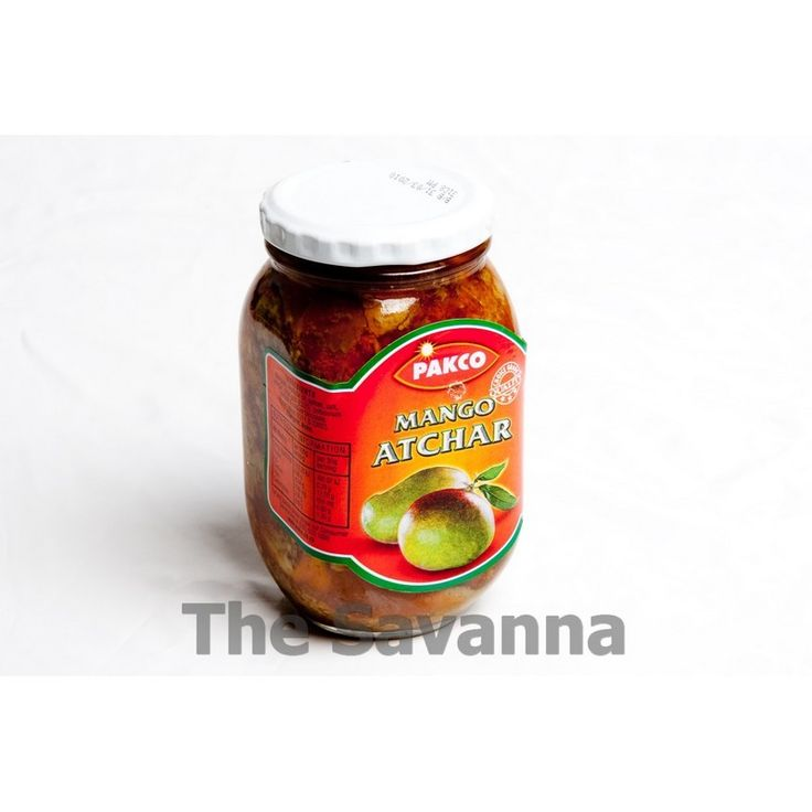 Packo Atchar Mango Pickle - South African Food - The Savanna