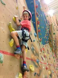 Indoor Climbing Wall at Newquay Sports Centre #newquay #cornwall