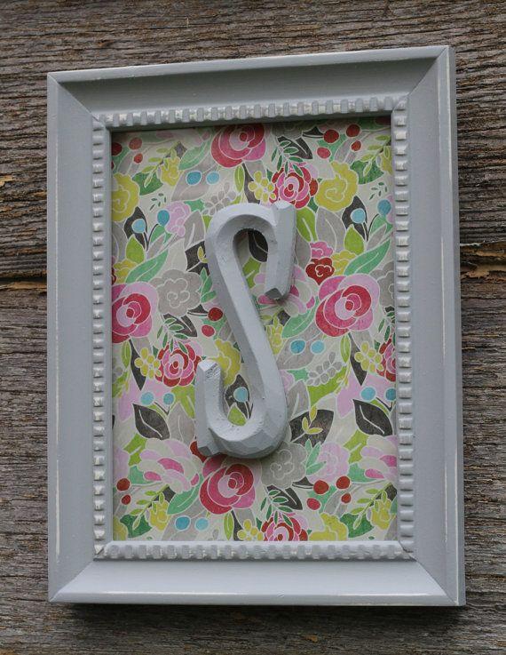 cheap & easy diy monogram frame