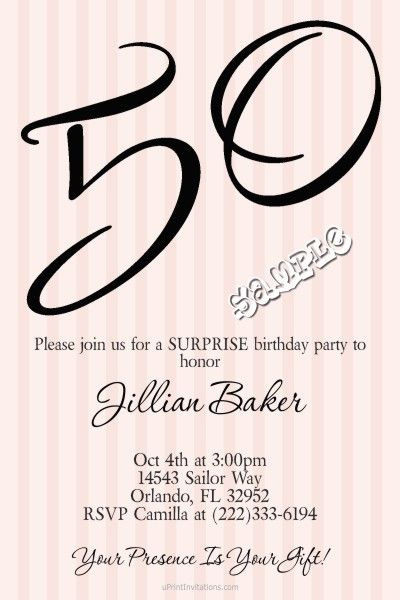 Age Bold Birthday Invitations ANY COLOR Choose Your Age   Digital Download    Get These Invitations