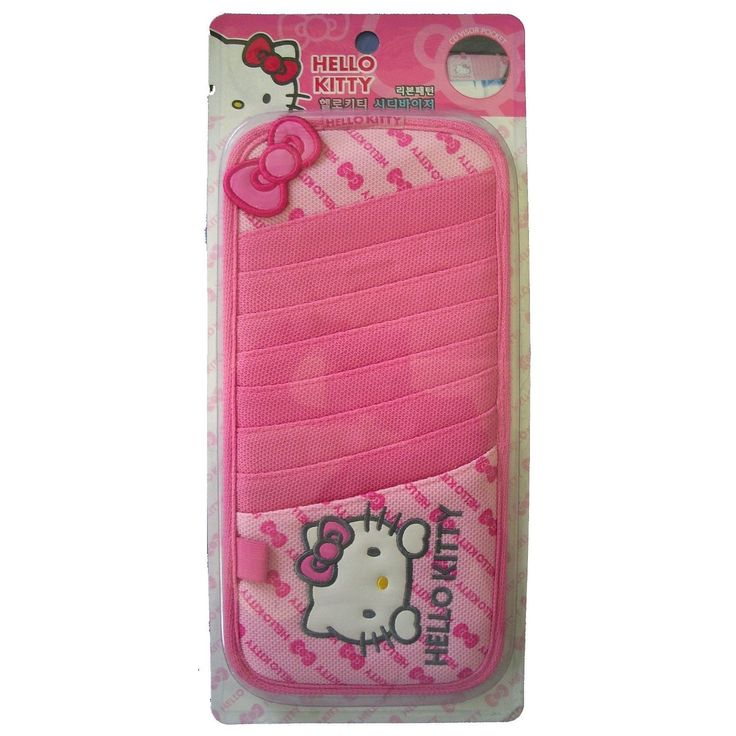 Hello Kitty Sanrio Pink CD Visor Organizer