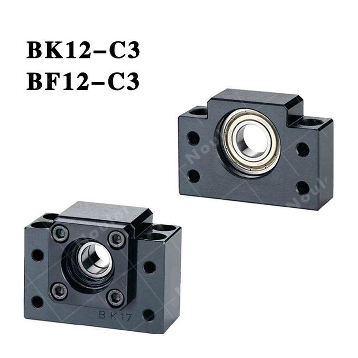 102.14$  Watch here - http://aiv7c.worlditems.win/all/product.php?id=32347369588 - C3 BK12 BF12 Set one pc of bk12 and one pc bf12 for SFU1605 ballscrew nut aluminium bracket  CNC parts