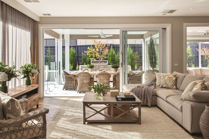 Brookwater 51B Family Room - Classic Home Design