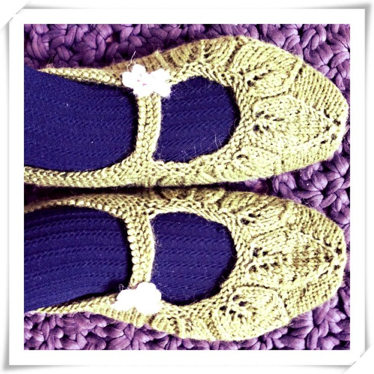 5  - lehden tossut / 5 -Leaf slippers