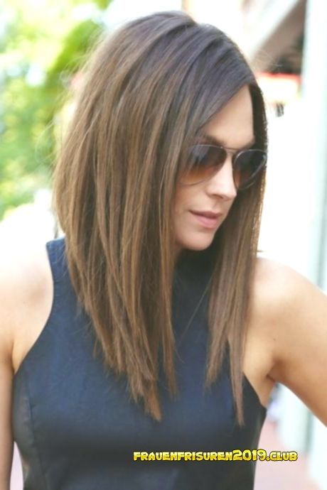 Frisuren Frauen Rundes Gesicht Cheveux Longs Pour Les Visages