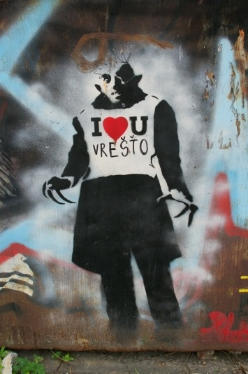 19 best banksy images on pinterest urban art banksy graffiti and street art banksy. Black Bedroom Furniture Sets. Home Design Ideas