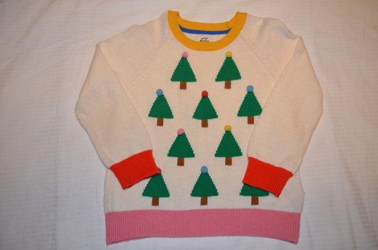 mini boden christmas jumper 5-6    eBay