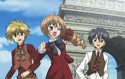 Seiji, Kilari et Hiroto