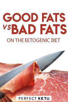 Good Fats vs. Bad Fats on the Keto Diet. Find out what kind of fatty foods are good for the ketogenic diet weight loss. Great keto diet tips for beginners and beyond. #keto #ketodiet #ketolife
