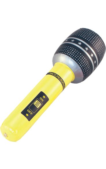 Blow-up Inflatable Microphone