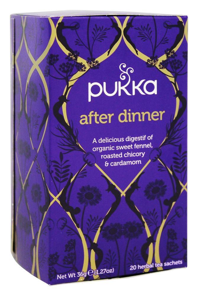 Buy Pukka Herbs - Organic Herbal Tea After Dinner - 20 Tea Bags at LuckyVitamin.com