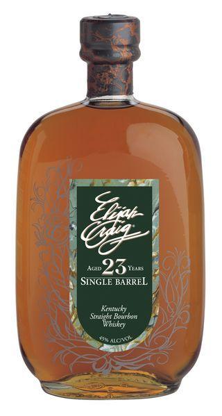 Elijah Craig 23-Year-Old Single Barrel Kentucky Straight Bourbon Whiskey