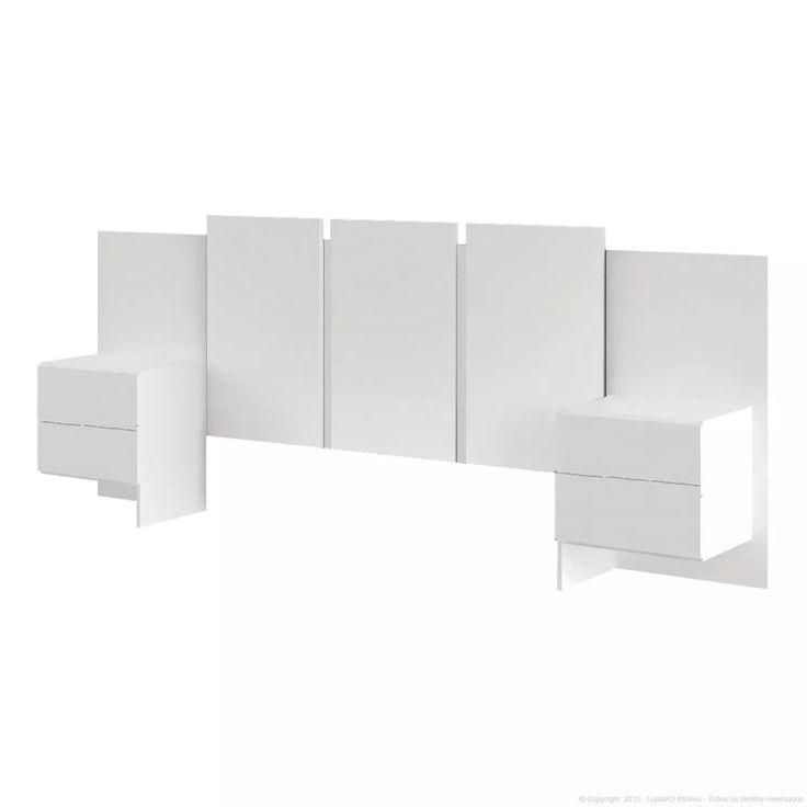 respaldo cama - sommier - mesas de luz - colchon 2 plazas