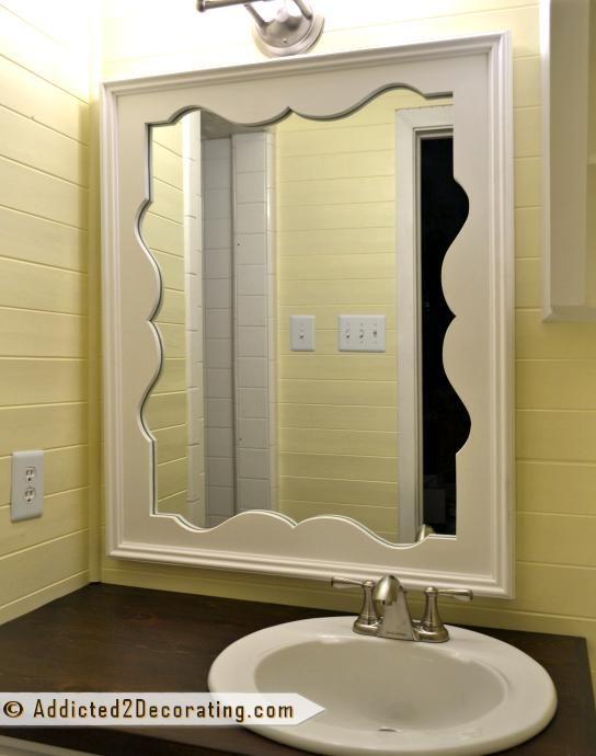 LOVE THIS! DIY Decorative Mirror With Scalloped Frame DIY Mirror DIY Home DIY Decor