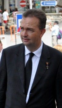 Karl von Habsburg (born 11 January 1961), referred to in Austria as Karl Habsburg-Lothringen, in France as Charles de Habsbourg-Lorraine, in the Czech Republic as Karel Habsbursko-Lotrinský, in Hungary as Habsburg Károly, and by his royal name as Archduke Karl of Austria, is an Austrian politician, and the current Head of the House of Habsburg, and the Sovereign (i.e. Grand Master) of the Order of the Golden Fleece.