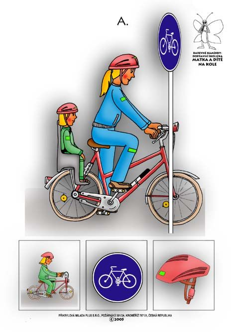 Barevné kamínky: Dopravní školička, další   náměty