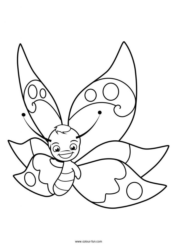 Free A4 Colouring Sheets, Download With A Single Click. Send To Print From  Your Phone Without Worryi… Butterfly Coloring Page, Free Coloring Pages,  Coloring Books