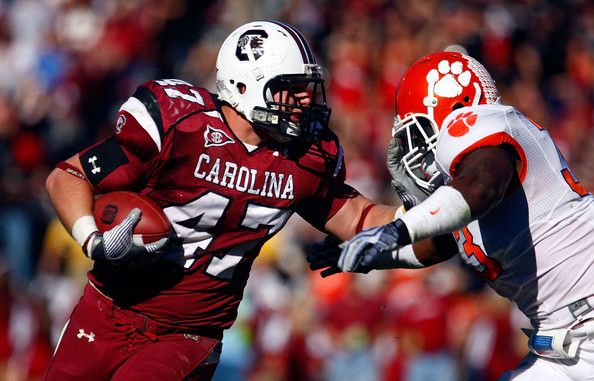 South Carolina Gamecocks  Patrick DiMarco TE/ FB (2007-2010)