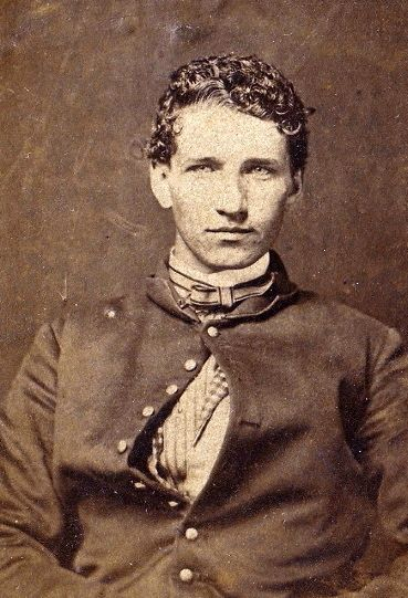 Alva Wilder (1842-1918) believed to have been taken in 1862.  Civil War vet from the 1st Michigan Light Artillery, Battery A (Loomis' Battery) from Brian Feller