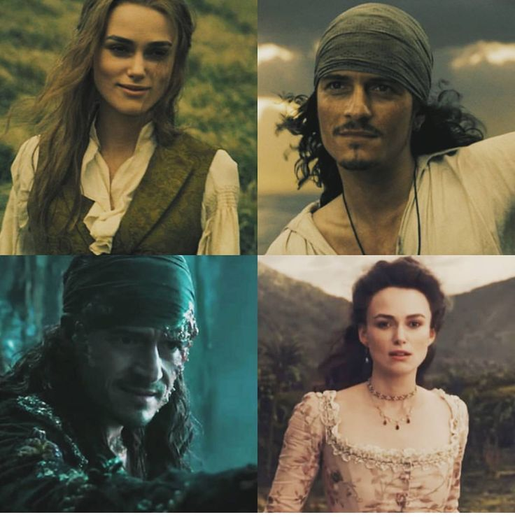 Yessssss > Will Turner and Elizabeth Swann in Pirates of the Caribbean: Dead Men Tell No Tales