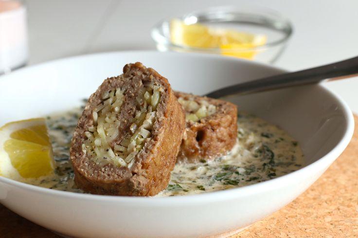 Kål i lammrulle med persiljesås - Uplifting - allt om god mat - recept, tips, restauranger, dryck
