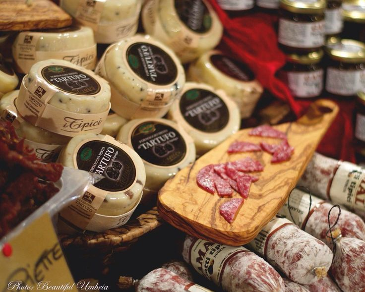 Tipici prodotti umbri ~~ Umbria, Italy