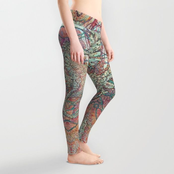 FREE WORLDWIDE SHIPPING + 20% OFF EVERYTHING - ENDS TONIGHT AT MIDNIGHT PT! (Dec 14/2015) #Seahorse Buy Siren's Ride Leggings by Col Mitchell Paper Artist. Worldwide shipping available at Society6.com. Just one of millions of high quality products available.