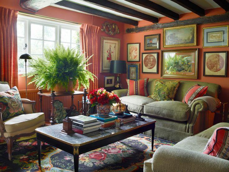 Pin de alla en country cottage beach style pinterest for Salon cottage