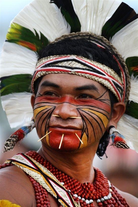 Native south american facial reflexology