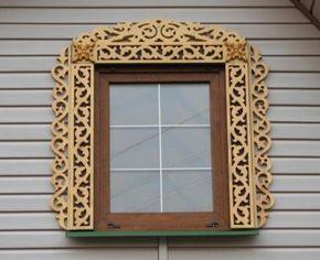 Наличники на окна - фото вариантов, шаблоны. Как сделать деревянные резные наличники своими руками?