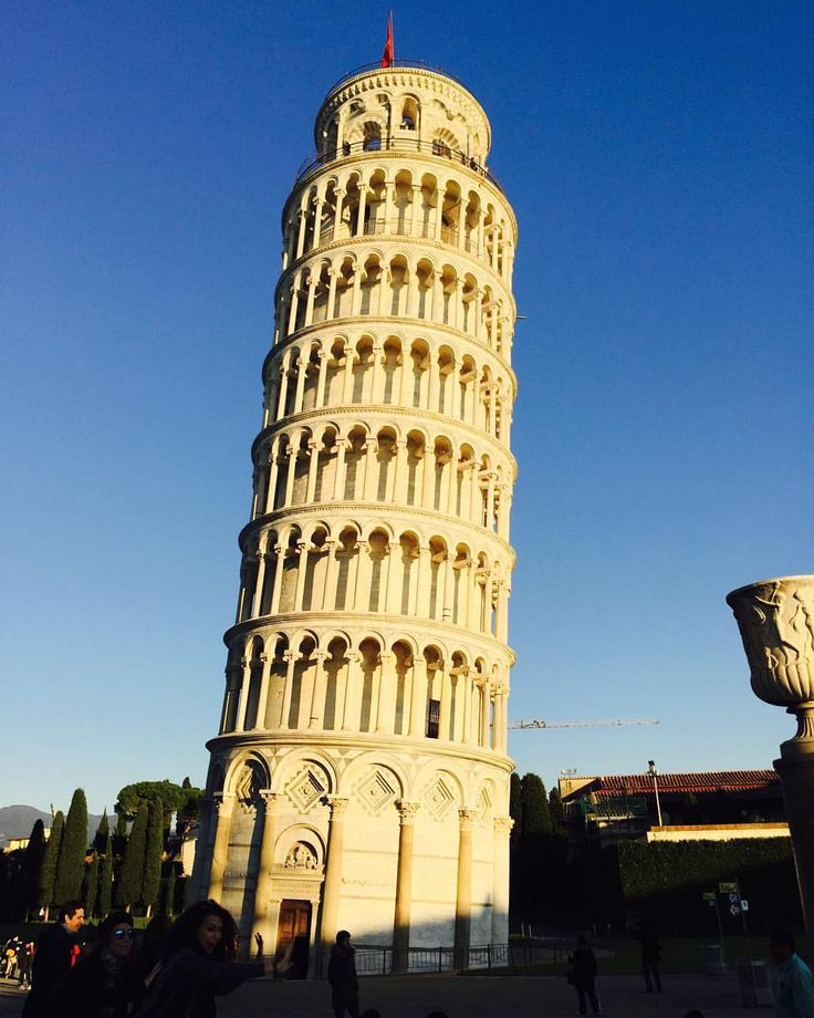 The Leaning tower of Pisa #italy
