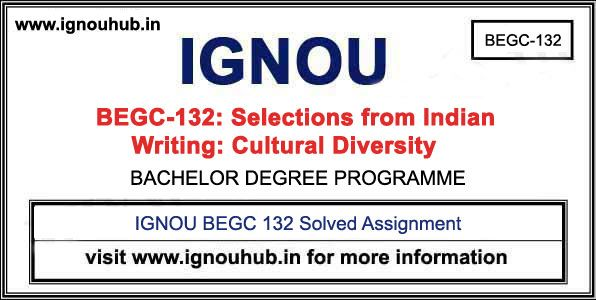 Ignou Begc 132 Solved Assignment 2019 20 In 2020 Assignments