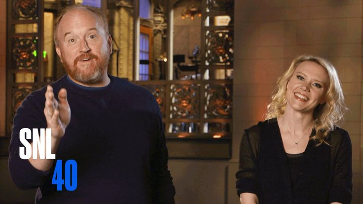 Louis C.K. hosts the #SNL40 season finale with musical guest Rihanna on Saturday! #SNL40Finale