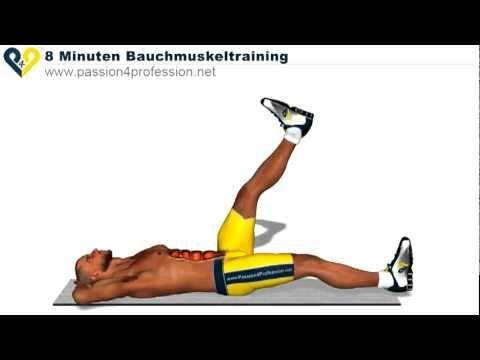 Bu egzersizi günde 8 dakika yapın...(Göbek bölgesinde fazlası olanlar için ) - YouTube